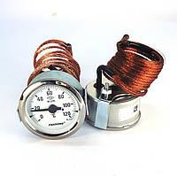Термометр 0 120°С с выносным датчиком 2 м Ø60, Pakkens Турция