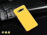 Пластиковый чехол для Samsung Galaxy A3 A300 желтый, фото 1