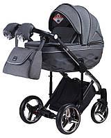 Дитяча коляска 2 в 1 Adamex Chantal Polar (Graphite) C5, фото 1