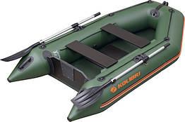 Лодка надувная Колибри из пвх км-260 двухместная моторная