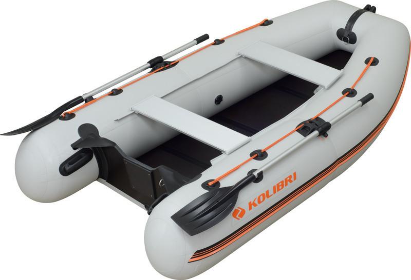 Надувная лодка Колибри km-280dl двухместная моторная