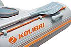 Надувная лодка Kolibri км-300dl трехместная моторная, фото 6