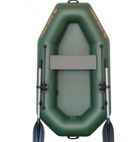 Лодка надувная Колибри из пвх к-190x одноместная гребная