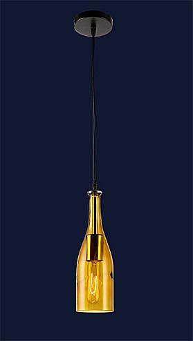 Підвісний світильник пляшка (різні кольори) 758866-1
