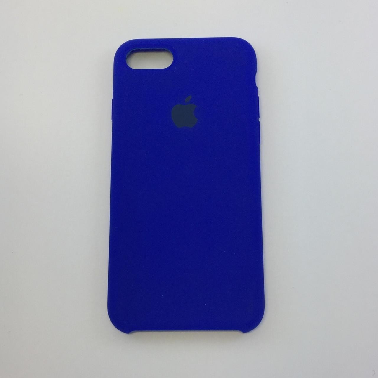 Силиконовый чехол для iPhone 8, - «электрик» - copy original