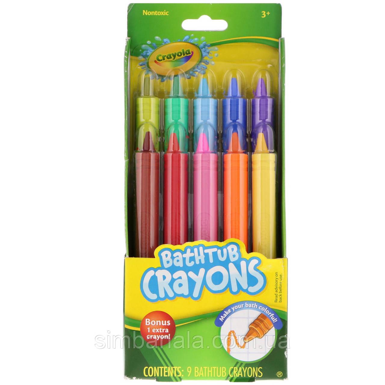 Карандаши для ванной Crayola Bathtub Crayons, США