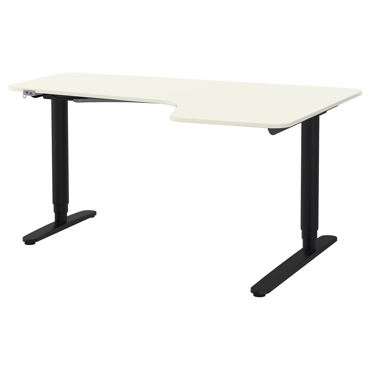 IKEA BEKANT (890.225.03) Стол угловой, белый