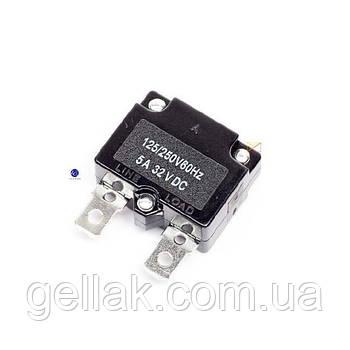 Кнопка термозащиты для компрессора 5 А (без кнопки)