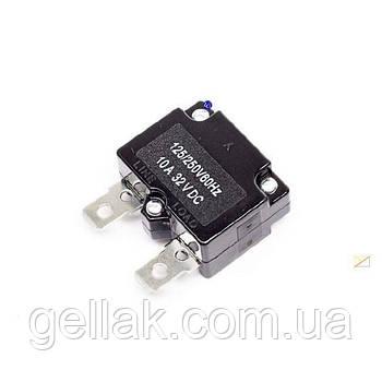 Кнопка термозащиты для компрессора 10 А (без кнопки)