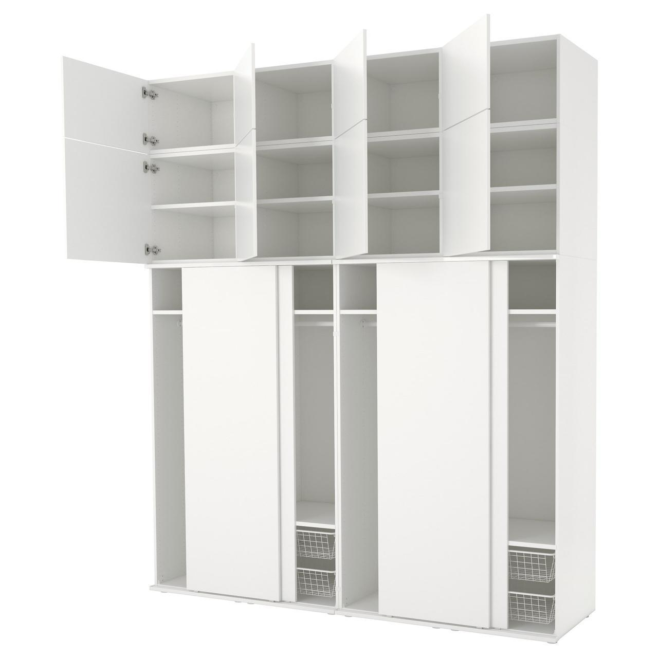 IKEAATSA (592.486.26) Шкаф/гардероб, белый, белый белый