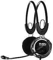 Наушники  Sven AP-525MV с микрофоном оригинал Гарантия!