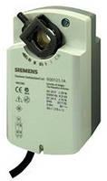 Siemens GQD136.1A, 2 Nm, возвр. пружина, 3pt, 24 В AC/DC, 2 доп.контакта