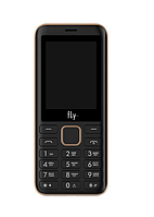 "Мобильный телефон Fly FF249 Champagne Gold (2SIM) 2,4"" 32/32МБ+SD 0.3 Гарантия! (ПРЕДОПЛАТА 100%)"