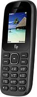 """Мобильный телефон Fly FF183 Black черный (2SIM) 1,77"""" 32/24МБ+SD Гарантия! (ПРЕДОПЛАТА 100%)"""