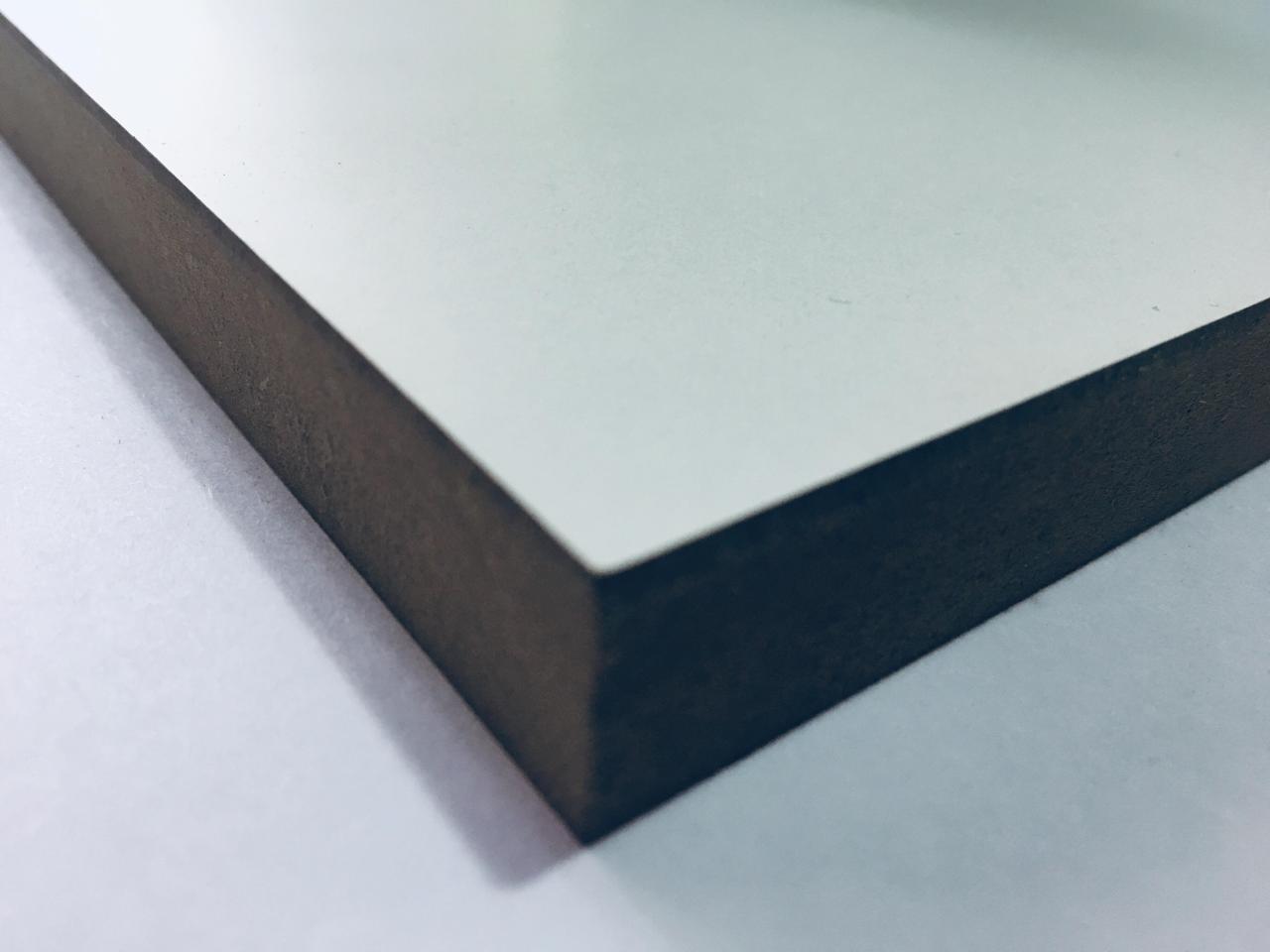 МДФ плита одностороння лам/біла 22мм