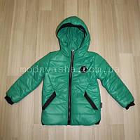 Курточка осіння з капюшоном для хлопчика 6-8 років