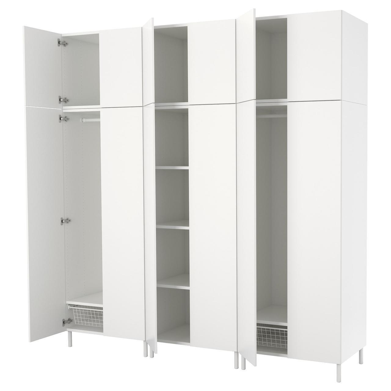 IKEAATSA (792.485.88) Шкаф/гардероб, белый, белый белый