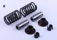 Клапанный механизм комплект (пружины, тарелки, сухари, направл.) на 2 кл. - 190N