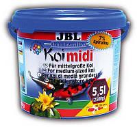 JBL Koi midi - Корм для карпов Кои средней величины 4017400, 5,5 л