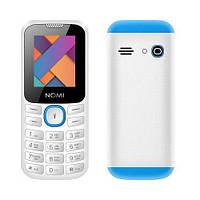 "Телефон Nomi i184 White-Blue бело-синий (1SIM) 1,8"" 32/32 МБ+SD оригинал Гарантия!"