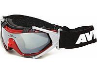Маска для катания на лыжах AVK Stella red