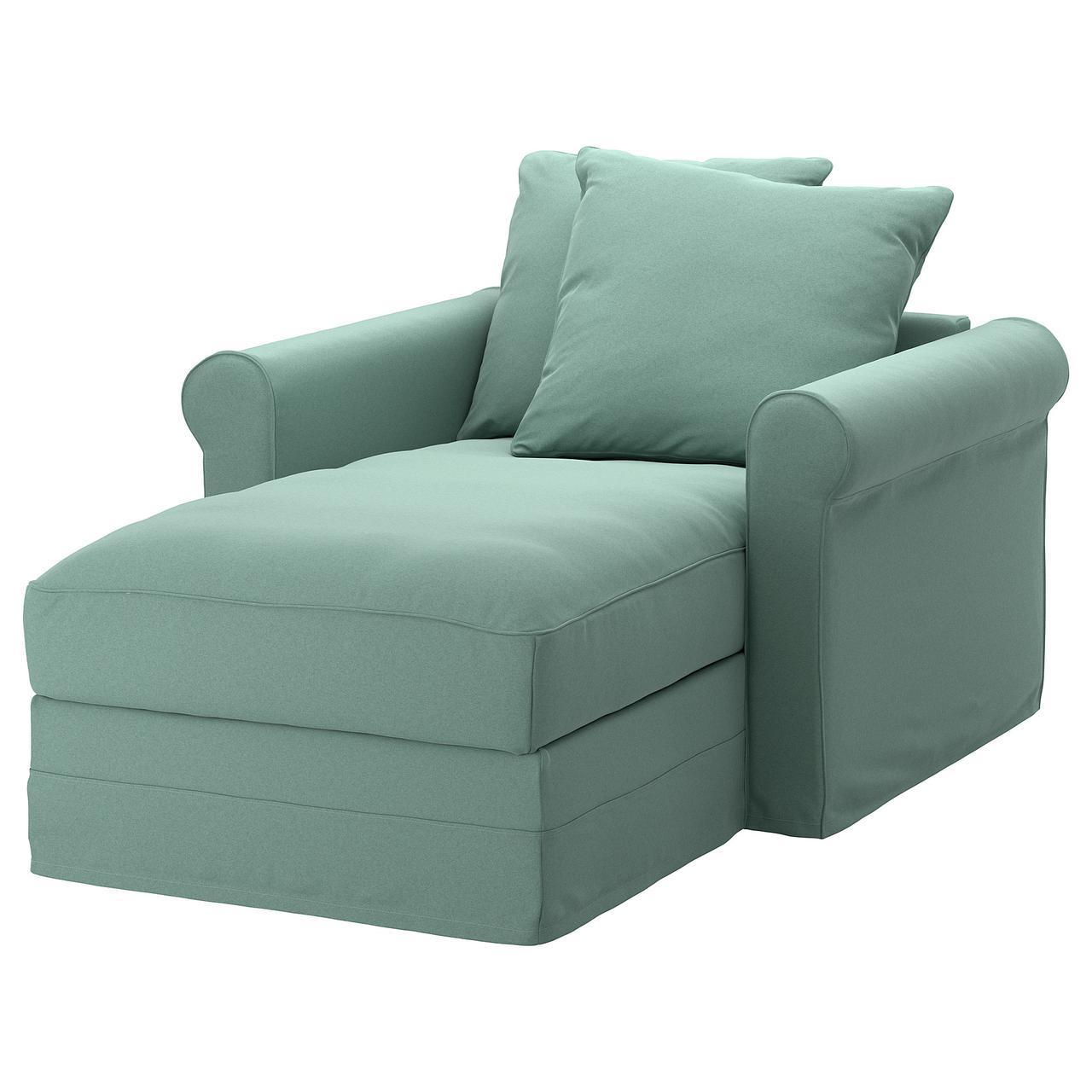 IKEA GRONLID (892.562.62) Шезлонги, Inseros светло-голубой