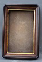 Киот для иконы  с скругленными углами с  золоченным скосом, фото 2