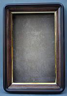 Киот для иконы  с скругленными углами с  золоченным скосом, фото 3