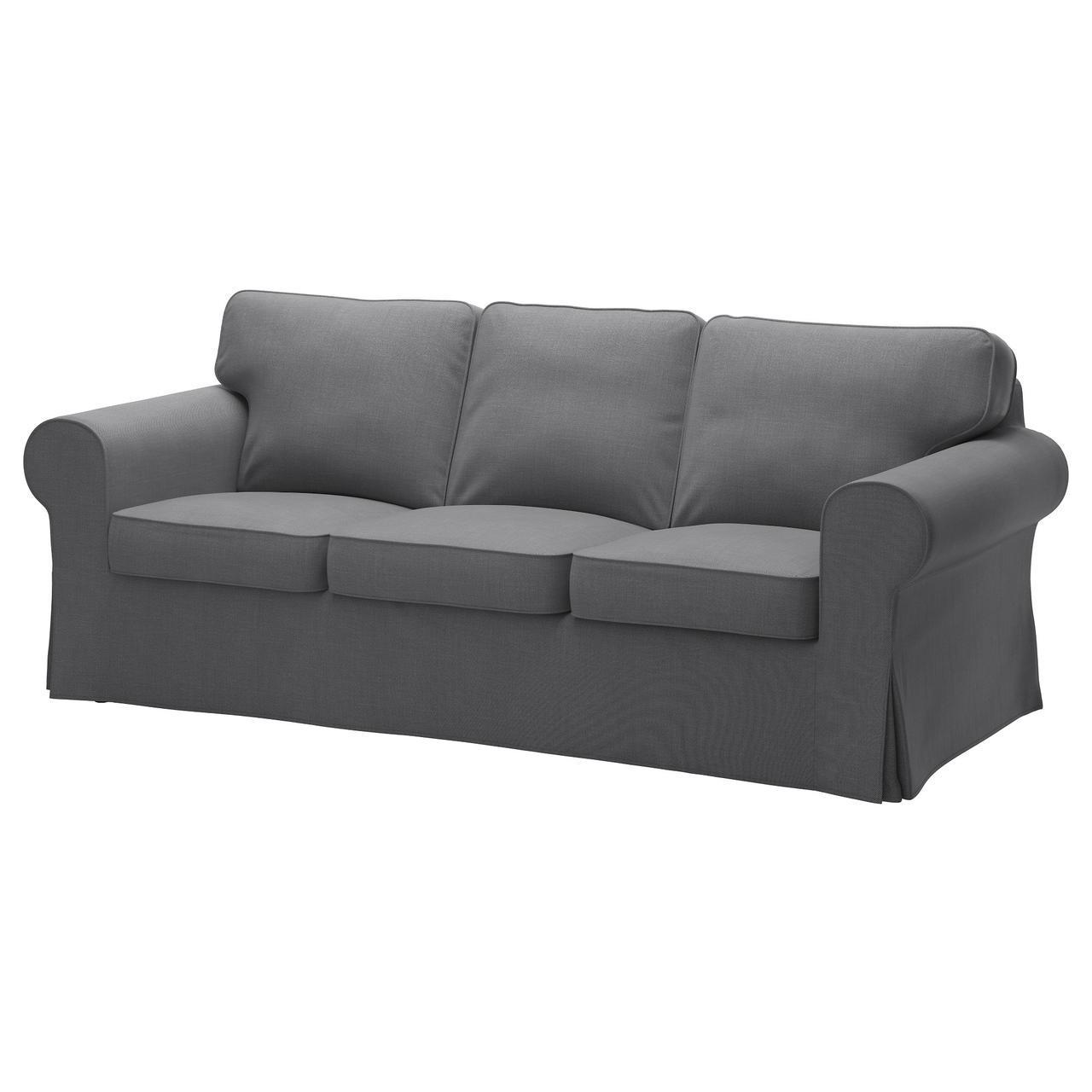 IKEA EKTORP (591.649.14) Трехместный диван, Нордвалла темный без