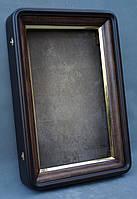 Киот для иконы  с скругленными углами с  золоченным скосом, фото 4