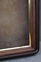 Киот для иконы  с скругленными углами с  золоченным скосом, фото 6
