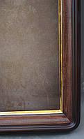 Киот для иконы  с скругленными углами с  золоченным скосом, фото 7