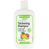 "Шампунь для густоты волос Mild By Nature ""Thickening Shampoo"" с биотином и соком цитруса (414 мл)"