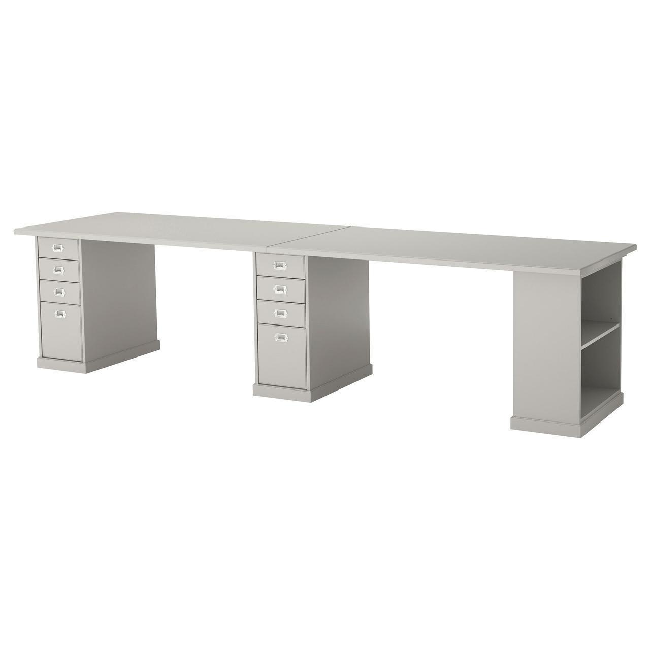 IKEA KLIMPEN (092.141.48) Стол светло-серый