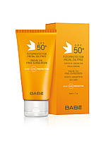 Крем сонцезащитный для жырной кожы лица  SPF 50,BABE, 50 мл
