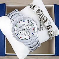 Готовый комплект на подарок (часы+браслет)