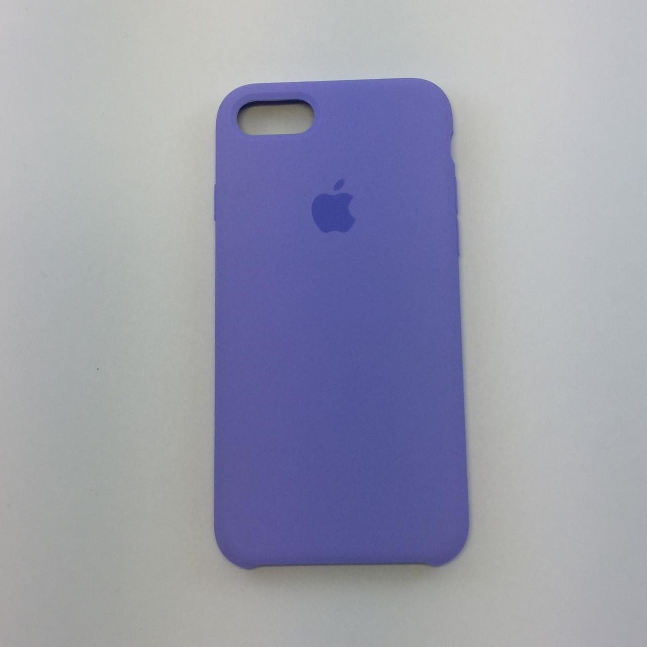 Силиконовый чехол для iPhone 7, - «сирень» - copy original