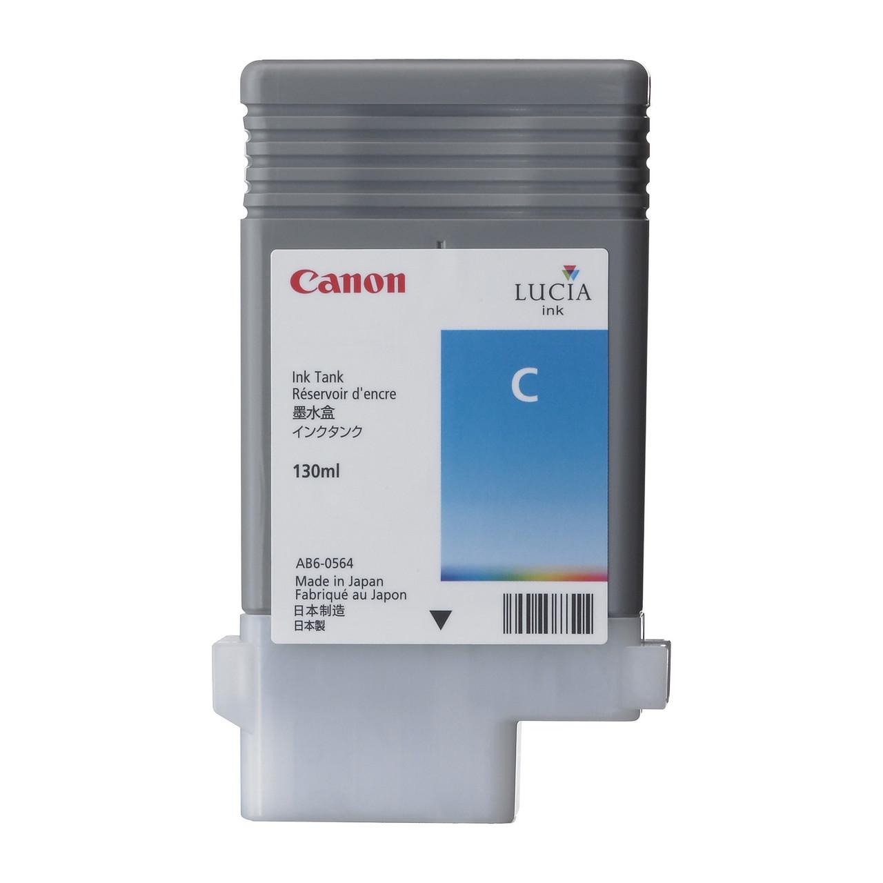 PFI-102C, Cyan Картридж iPF605/iPF750, синій. 130мл
