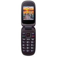 "Бабушкофон-раскладушка Maxcom MM818 Black черный (2SIM) 2,4"" 0,3Мп оригинал Гарантия!"