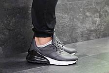Мужские кроссовки Nike Air Max 270,серые, фото 2