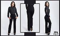 Безупречные  женские брюки прямого кроя