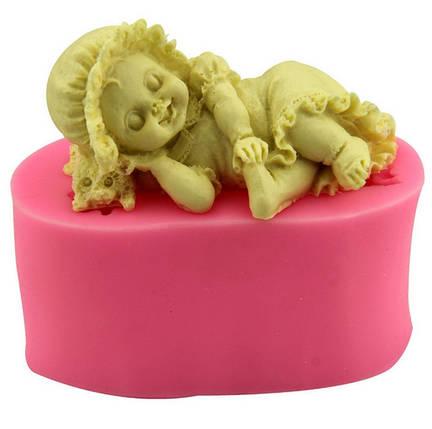 Пищевая силиконовая форма ангелочек, фото 2