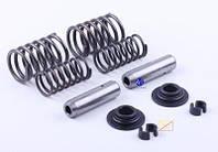 Клапанный механизм комплект (пружины, тарелки, сухари, направляющие) на 2 кл. - ZS/ZH1100