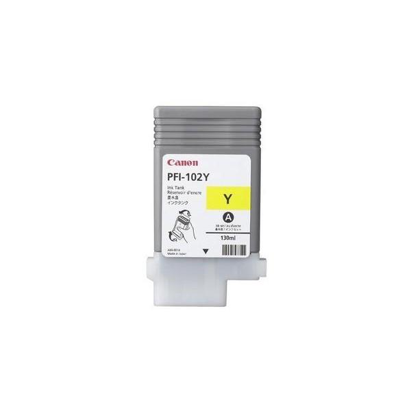 PFI-102Y, Yellow Картридж iPF605/iPF750, жовт. 130мл