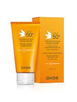 Тонирующий солнцезащитный крем для  лица SPF 50,BABE, 50 мл