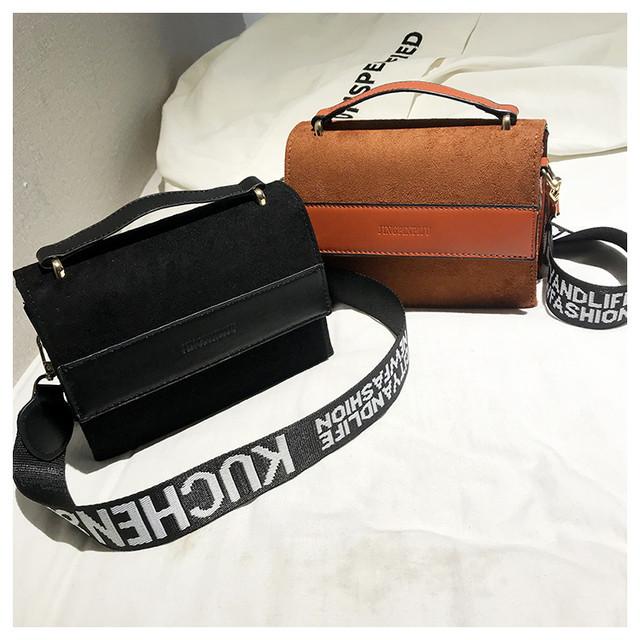 f08a7fdd240a Молодежная женская сумка на широком ремне Jingrin - Strelecia - интернет-магазин  женских сумок,