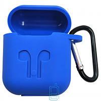 Футляр для наушников Airpod Full Case синий