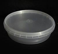 ПЭТ контейнер пищевой круглый 450 грамм