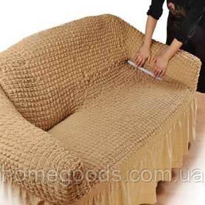 Как надевать чехол на диван