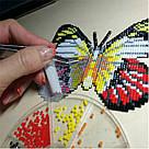 Алмазная мозаика Art Solo Полосатый тигр (БАТ06) 14,5 х 11 см (Без подрамника), фото 2